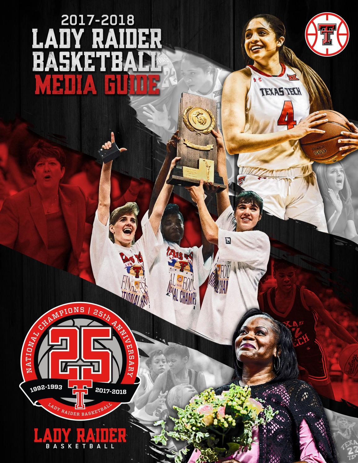 2017 18 Lady Raider Basketball Media Guide By Texastech Issuu League Volans K 440