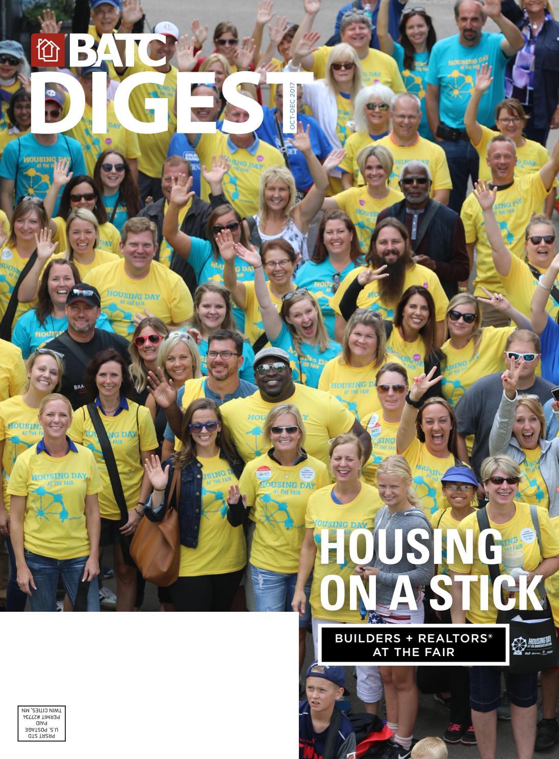 BATC Digest | Oct–Dec 2017 by Housing First Minnesota - Issuu