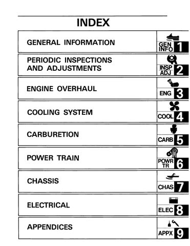 1990 yamaha exciter 570 snowmobile service repair manual by