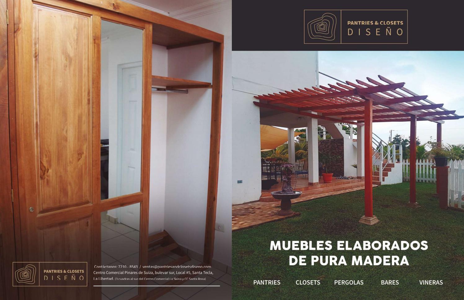 Muebles Elaborados De Pura Madera El Salvador By Pantries  # Muebles Pura Madera