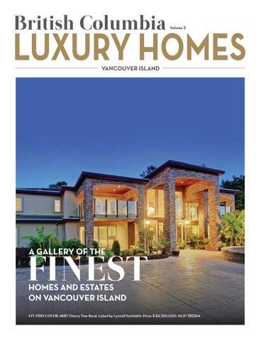 British Columbia Luxury Homes U2013 Vancouver Island U2013 Volume 3   September 2017