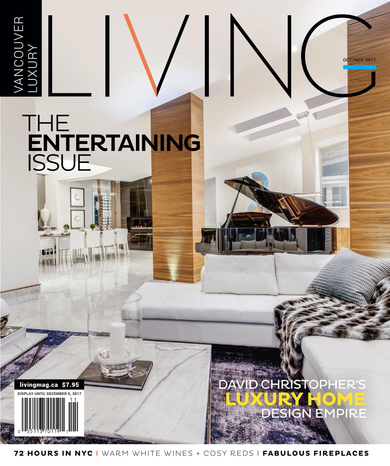 Vancouver Luxury Living October 2017 By NSN Features