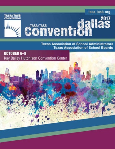 2017 tasatasb convention program by texas association of school page 1 malvernweather Gallery