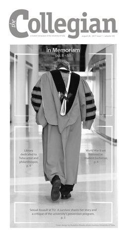 A Student Newspaper Of The University Tulsa