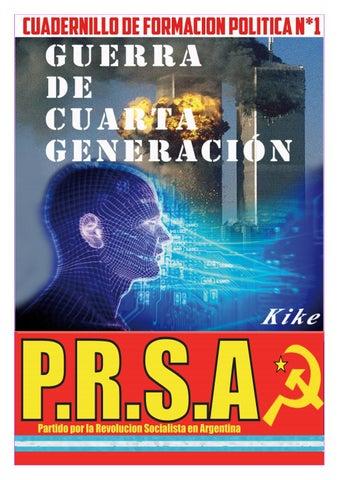 Guerra de cuarta generacion cuadernillo n1 prsa by Dialectica ...