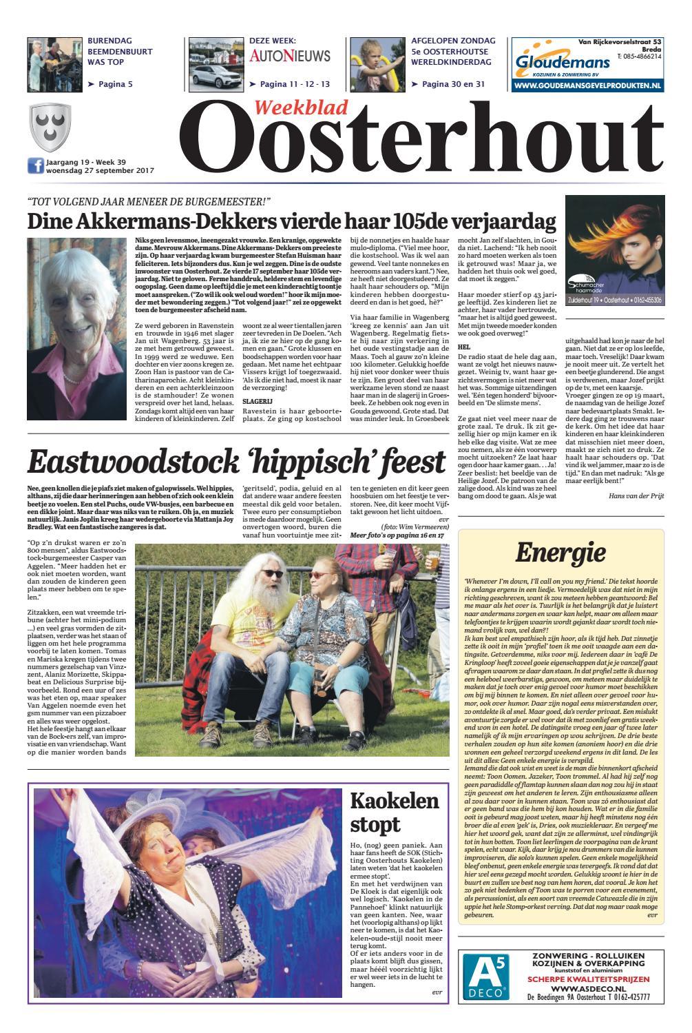 5b07ad32018ed8 Weekblad Oosterhout 27-09-2017 by Uitgeverij Em de Jong - issuu