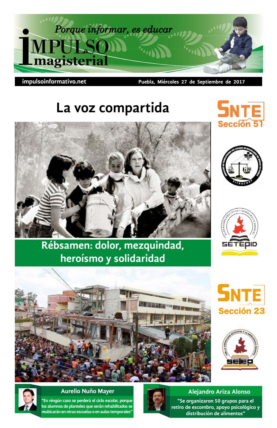 Impulso magisterial impreso 27 septiembre 2017 by Alejandro García ...
