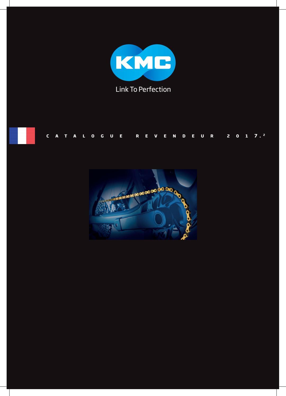 KMC Z1 Large EPT chaîne-Vitesse Unique 1//2 X 1//8 112 Maillons Argent