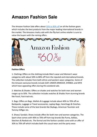 f410abc6a97aa5 Amazon fashion sale by Shoppingmantraz - issuu