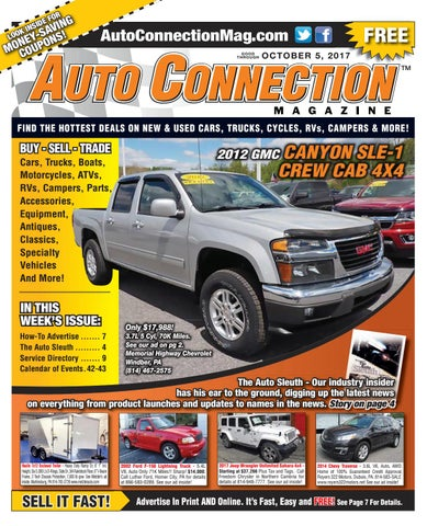 10-05-17 Auto Connection Magazine by Auto Connection