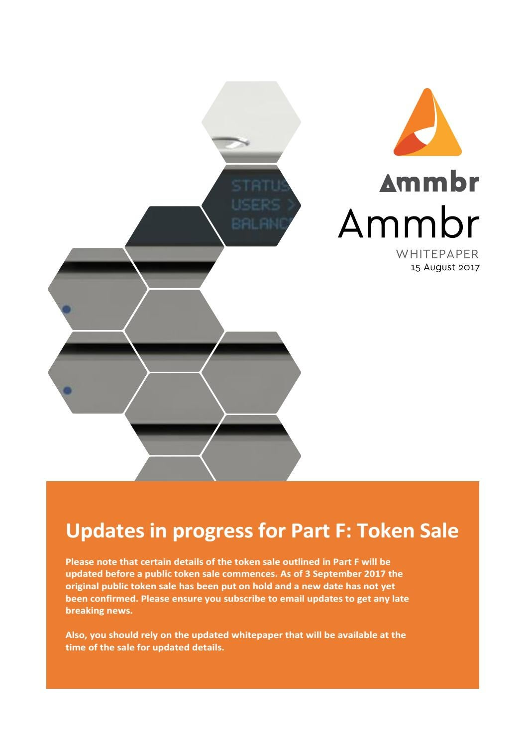 Ammbr Whitepaper V1 2 4sept2017 By Cryptocurrency Whitepapers Issuu Wiring Diagram For Sdtech Light Bars