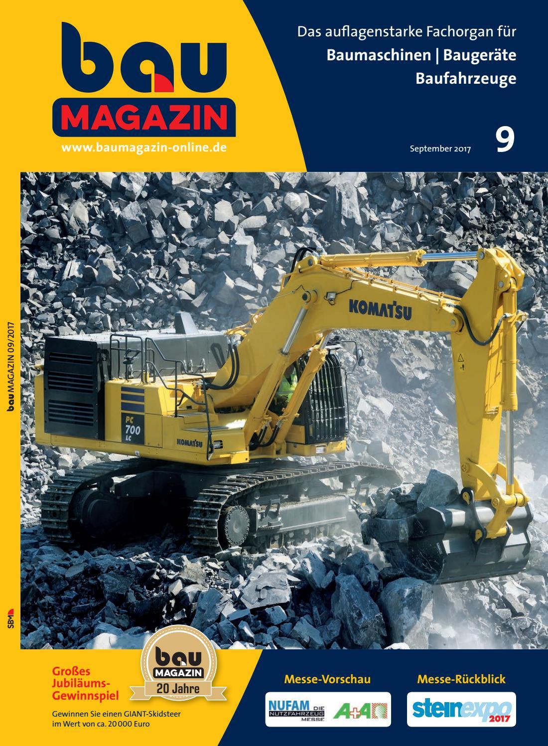 bauMAGAZIN September 2017 by SBM Verlag GmbH issuu