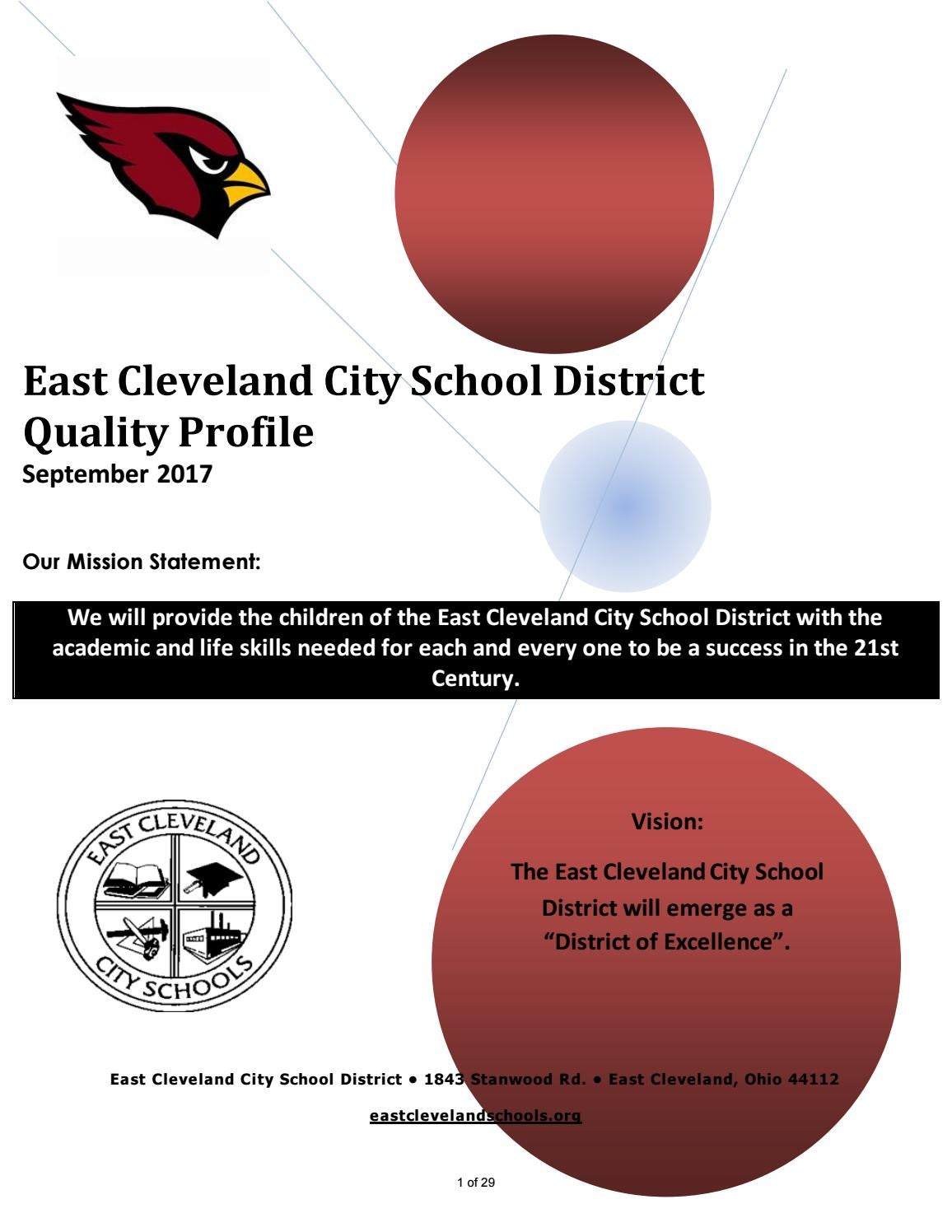 ECCS Quality Profile by East Cleveland City Schools - issuu