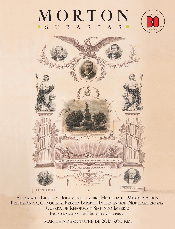 Subasta de Libros y Documentos sobre Historia de México by Morton Subastas  - issuu