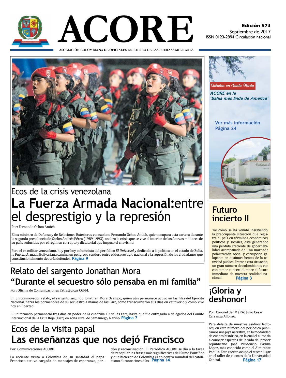 Periódico edición 573 diciembre 2017 by ACORE - issuu 85e671806ba