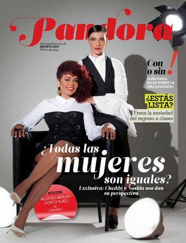 57cf1179b2d4 Pandora www.pandora.com.do AGOSTO 2017 Nº277• 96 págs.