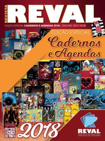 Revista Reval Cadernos + Agendas 2018 by Reval Atacado de Papelaria ... b99965dada