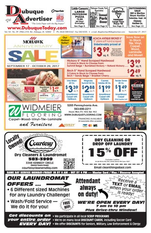 The Dubuque Advertiser, September 27, 2017 by The Dubuque Advertiser ...