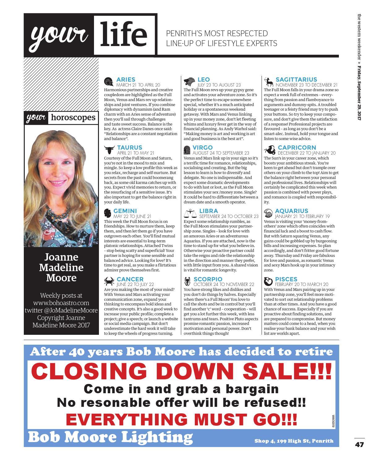 Western Weekender September 29 By Sydney Publishing