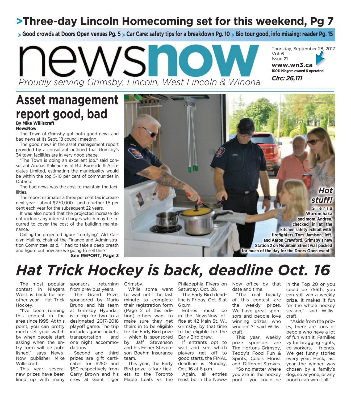 newsnow Niagara e-edition September 28 2017 by newsnow Niagara - issuu