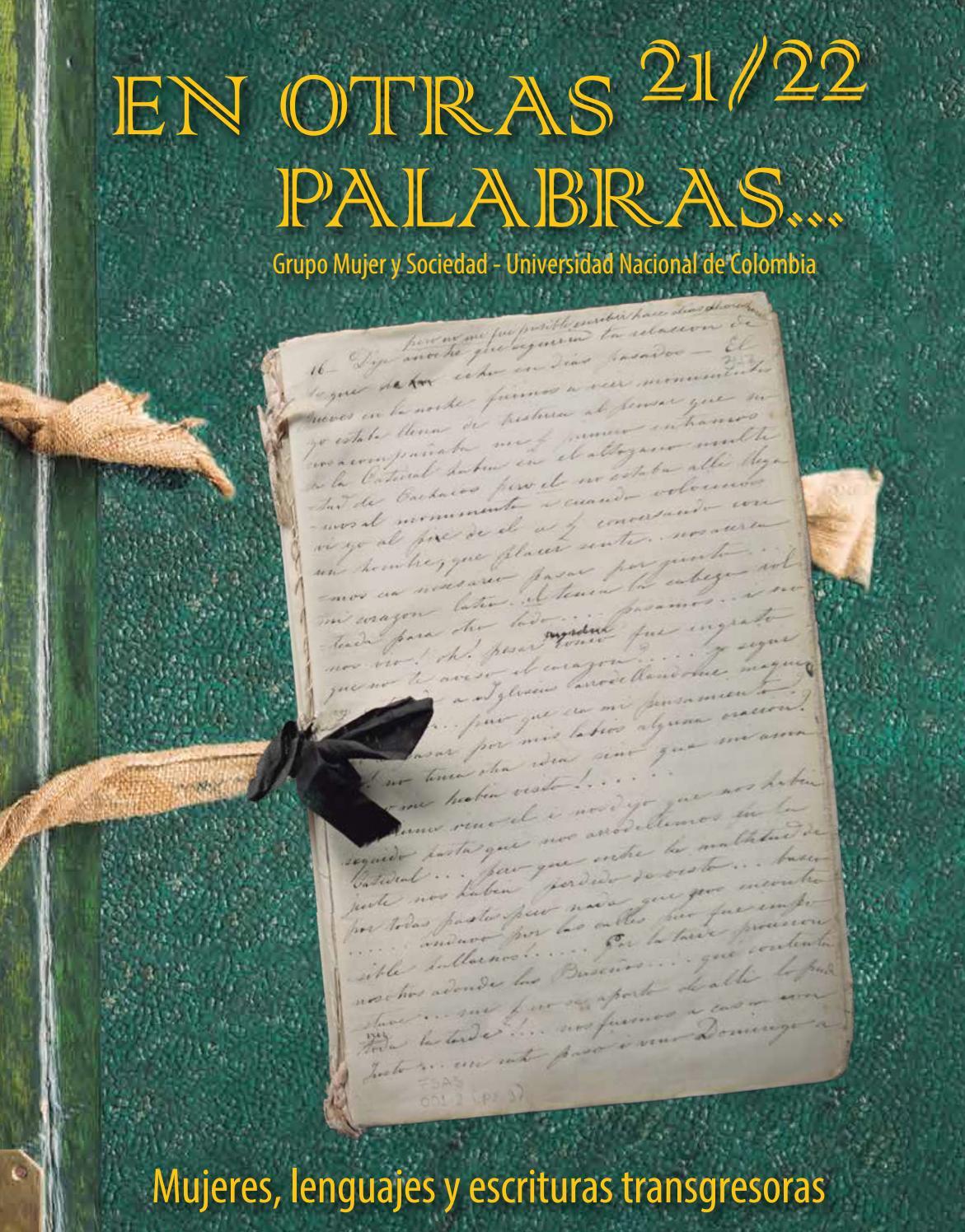 Revista En otras palabras No. 21/22 Mujeres, lenguajes y escrituras  transgresoras by Revista en otras palabras - issuu