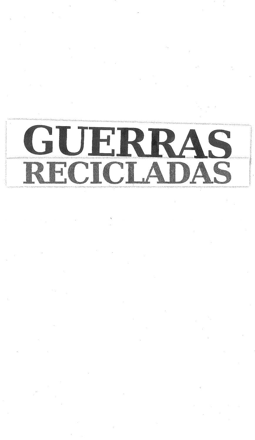 Guerras recicladas by Andres Duarte Mma Parkour - issuu 09572d376be