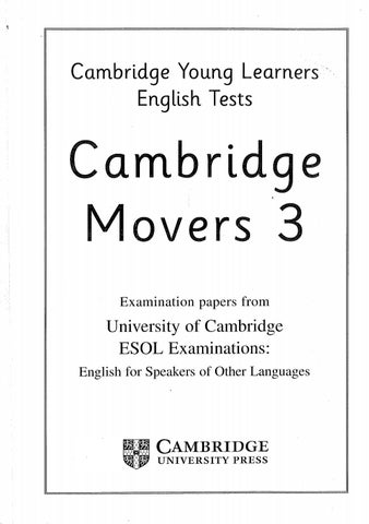 Cambridge mover 3 student's book 28 9 2017 by EBOOK SOS LIB PREVIEW
