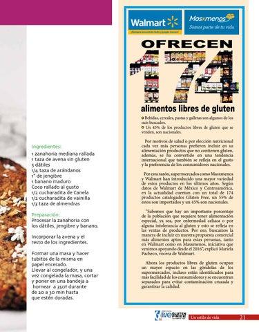 Edicion 26 Vive Gluten Free By Grupo Vive Issuu Bolsa 300 g producto : issuu