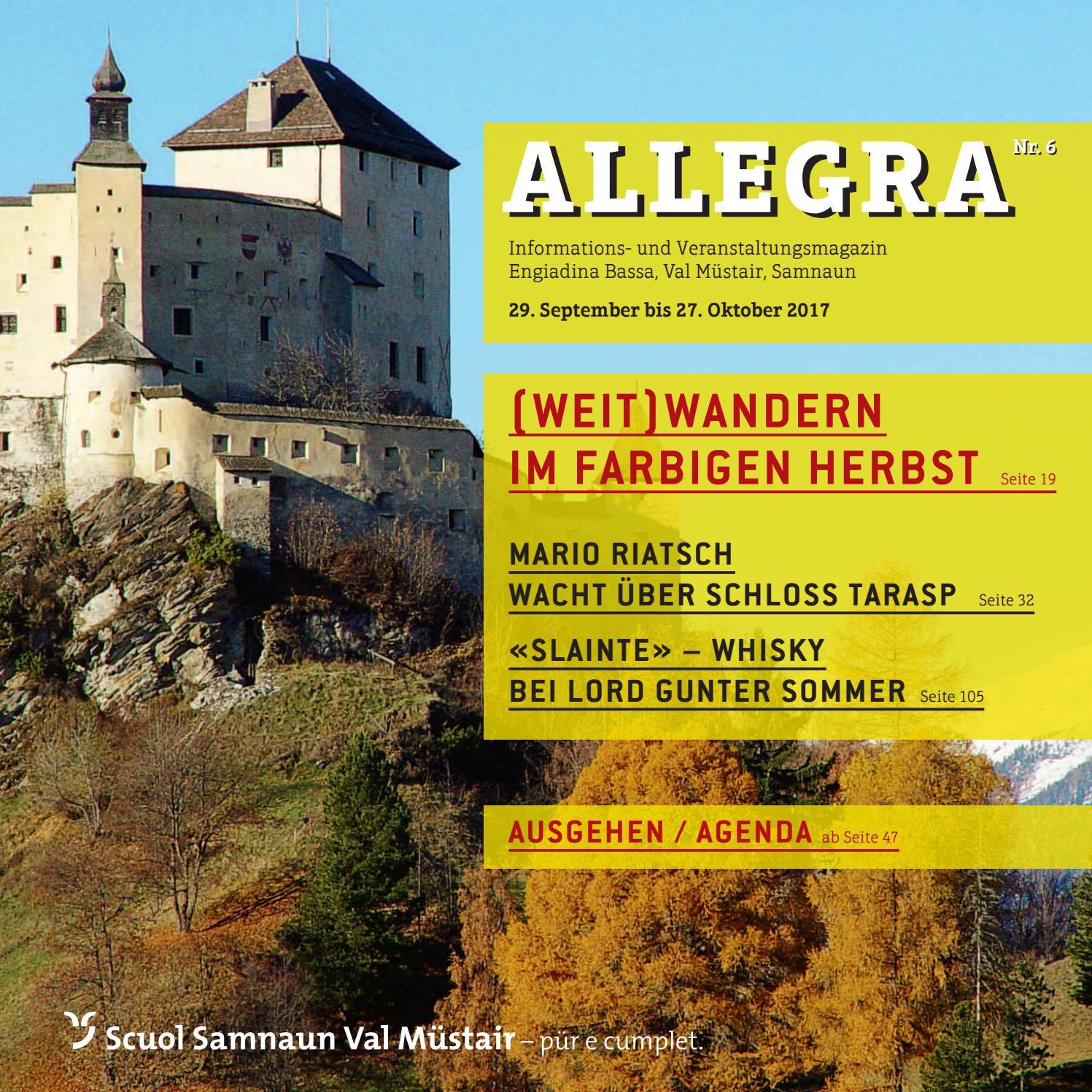 Allegra by Tourismus Engadin Scuol Samnaun Val - Issuu