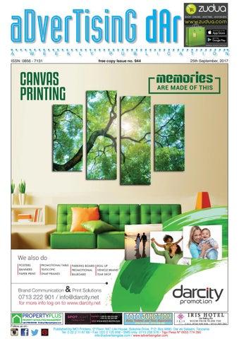 Advertising Dar Issue Nº 944 - 29th September, 2017
