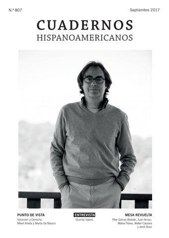 Cuadernos Hispanoamericanos N 807 Septiembre 2017 By Aecid