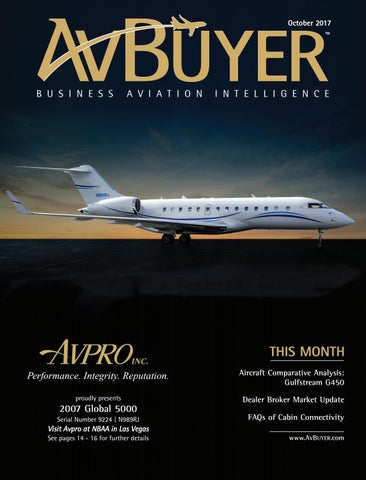 AvBuyer Magazine October 2017 by AvBuyer Ltd  - issuu