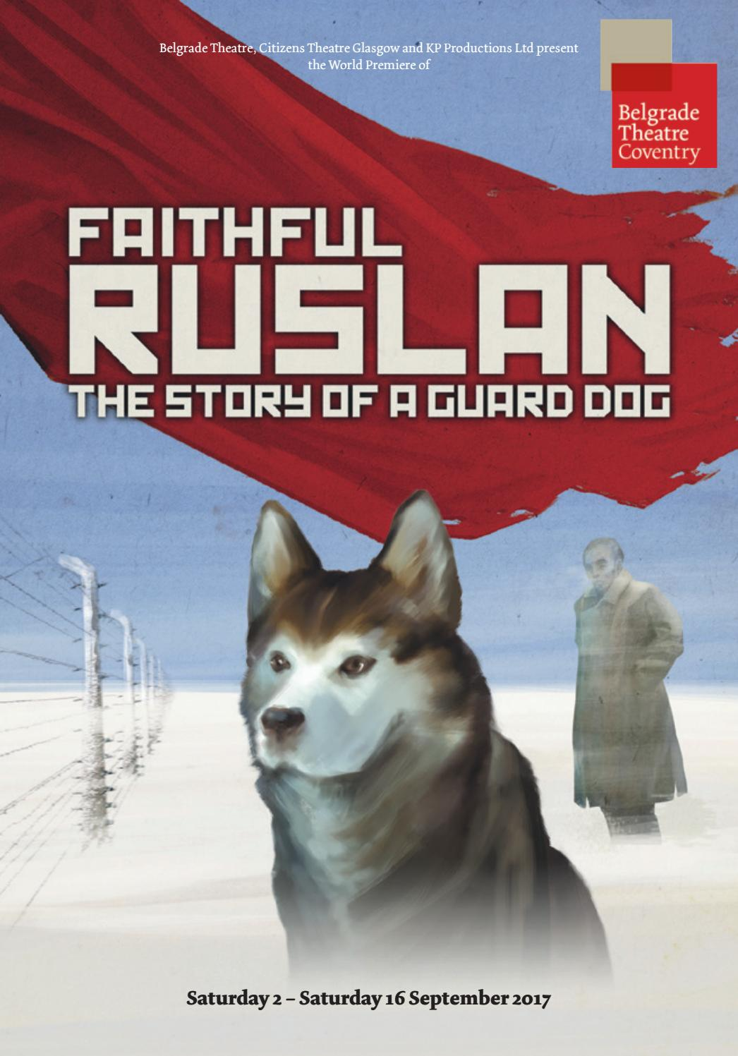 Belgrade Story A Ruslan Dog Guard By Faithful Of Programme The wklOZuTPXi