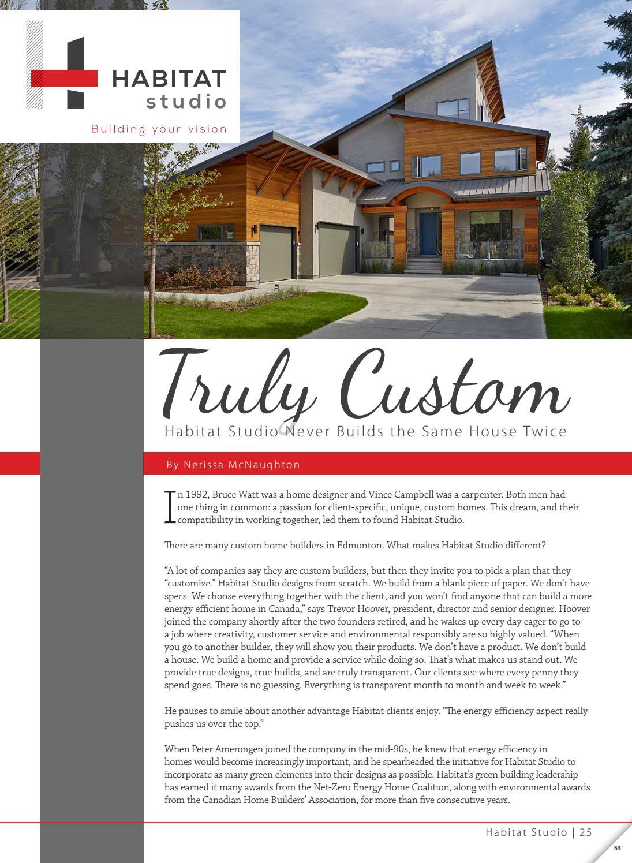 Habitatstudio web by Business in Edmonton Magazine - issuu