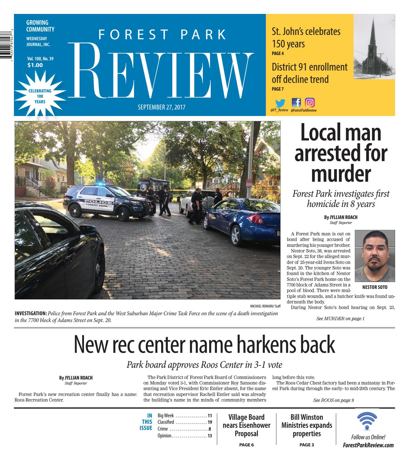 ForestParkReview_092717 by Wednesday Journal - issuu