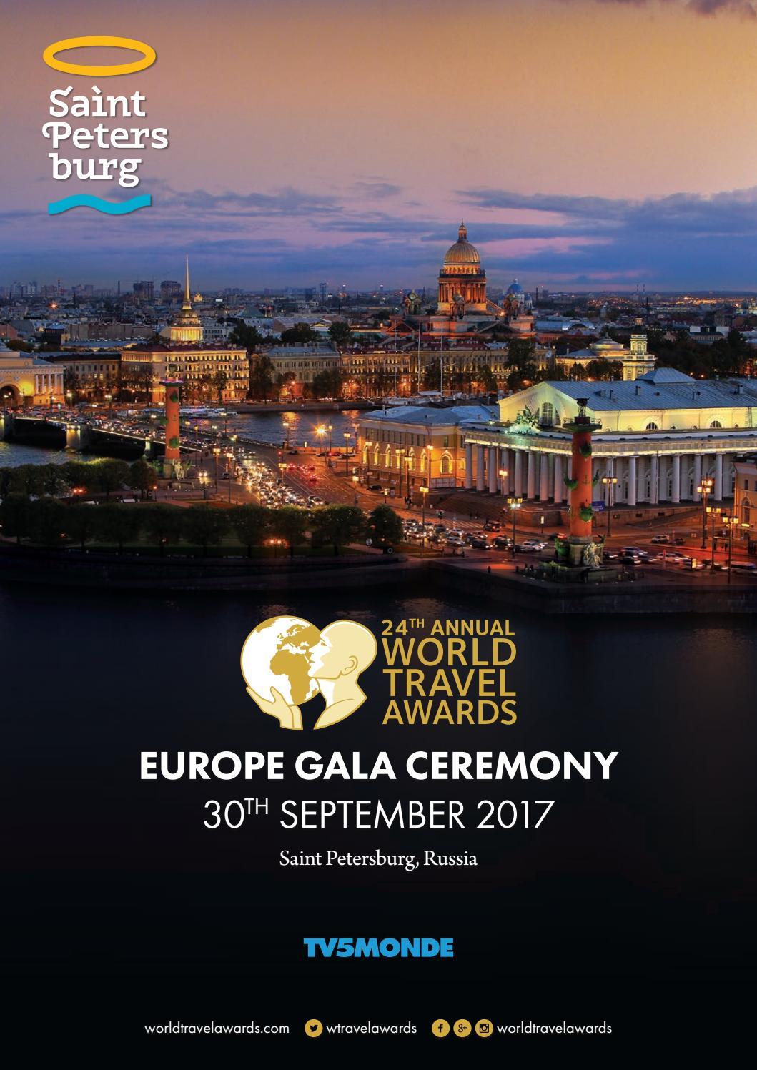 World Travel Awards Europe Gala Ceremony 2017 By World