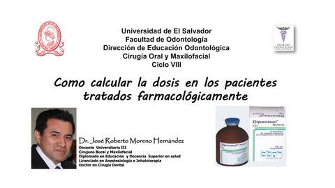 dosis antibiotico niños odontologia