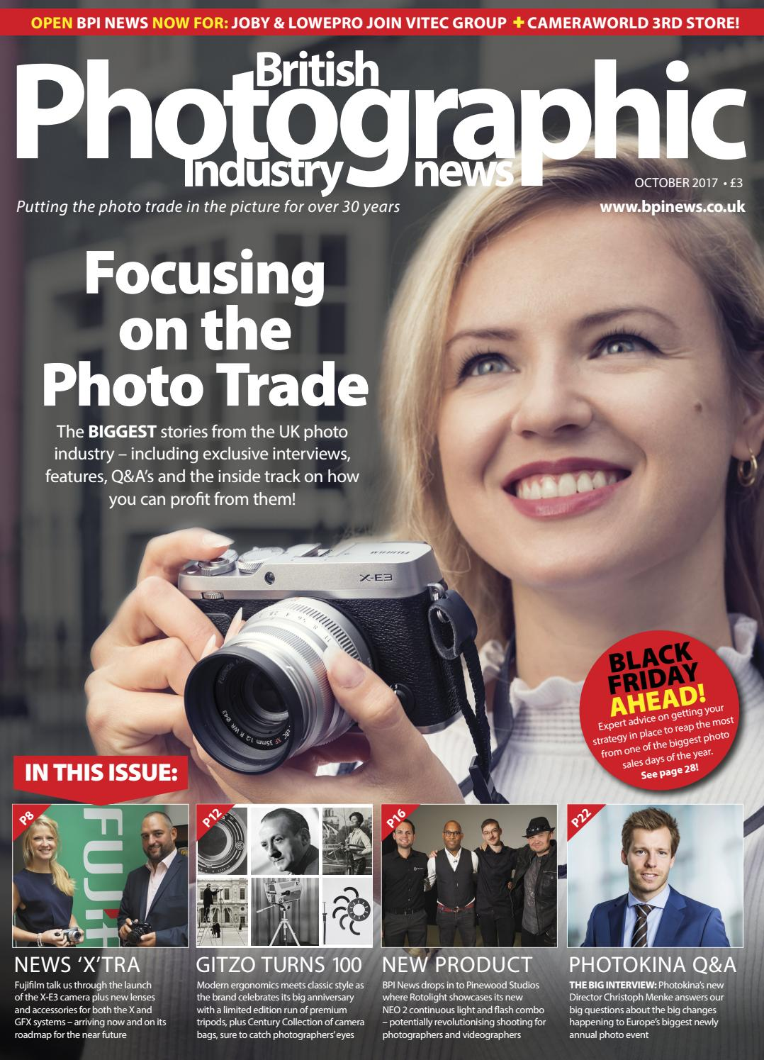 British Photographic Industry News October 2017 by BPI News