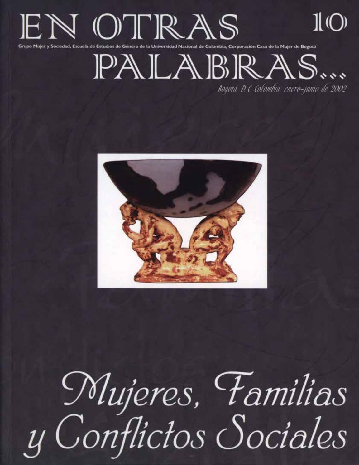 Revista En Otras Palabras No 10 Mujeres Familia Y