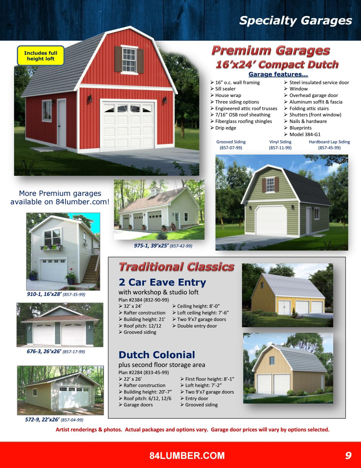 84 lumber project idea catalog by doug fritsch issuu - 84 Lumber Roof Trusses