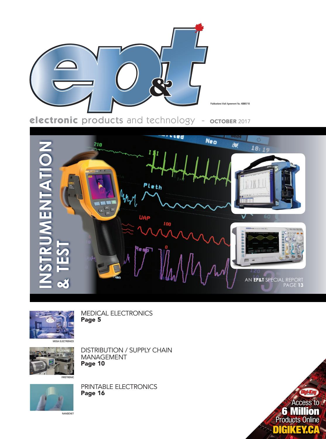 Electronic Products And Technology October 2017 By Annex Newcom Lp The Main Limitation In Circuit Simulation Digichip Is That You Can Issuu