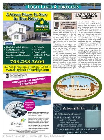 The Angler Magazine - October / Greater Atlanta by Coastal Angler