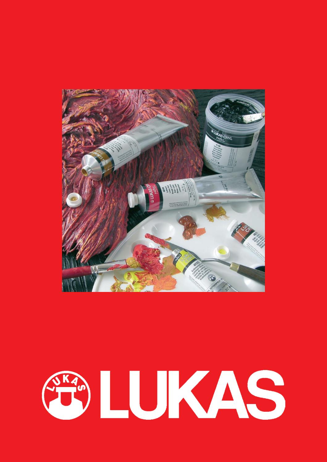 Lukas 5409 goldtoray plat pinceau taille 6