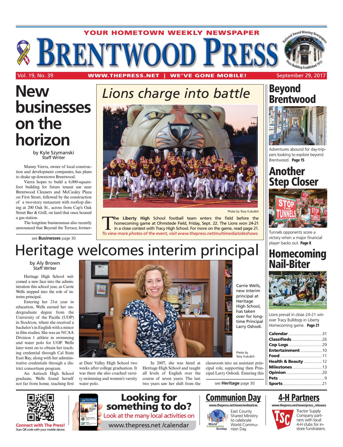 Brentwood Press 092917 By Publishing