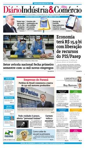 Diário Indústria Comércio - 29 de setembro de 2017 by Diário ... 441119df3b