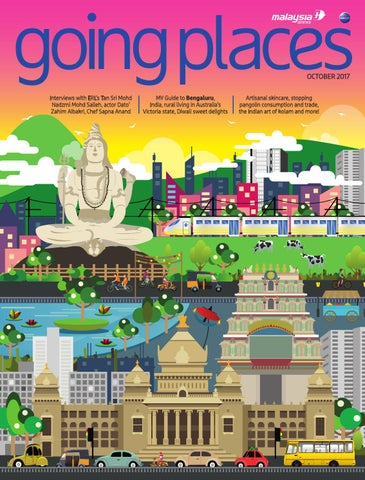 Going Places October 2017 By Spafax Malaysia