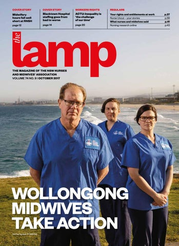 Lamp october 2017 by nsw nurses and midwives association issuu page 1 fandeluxe Gallery