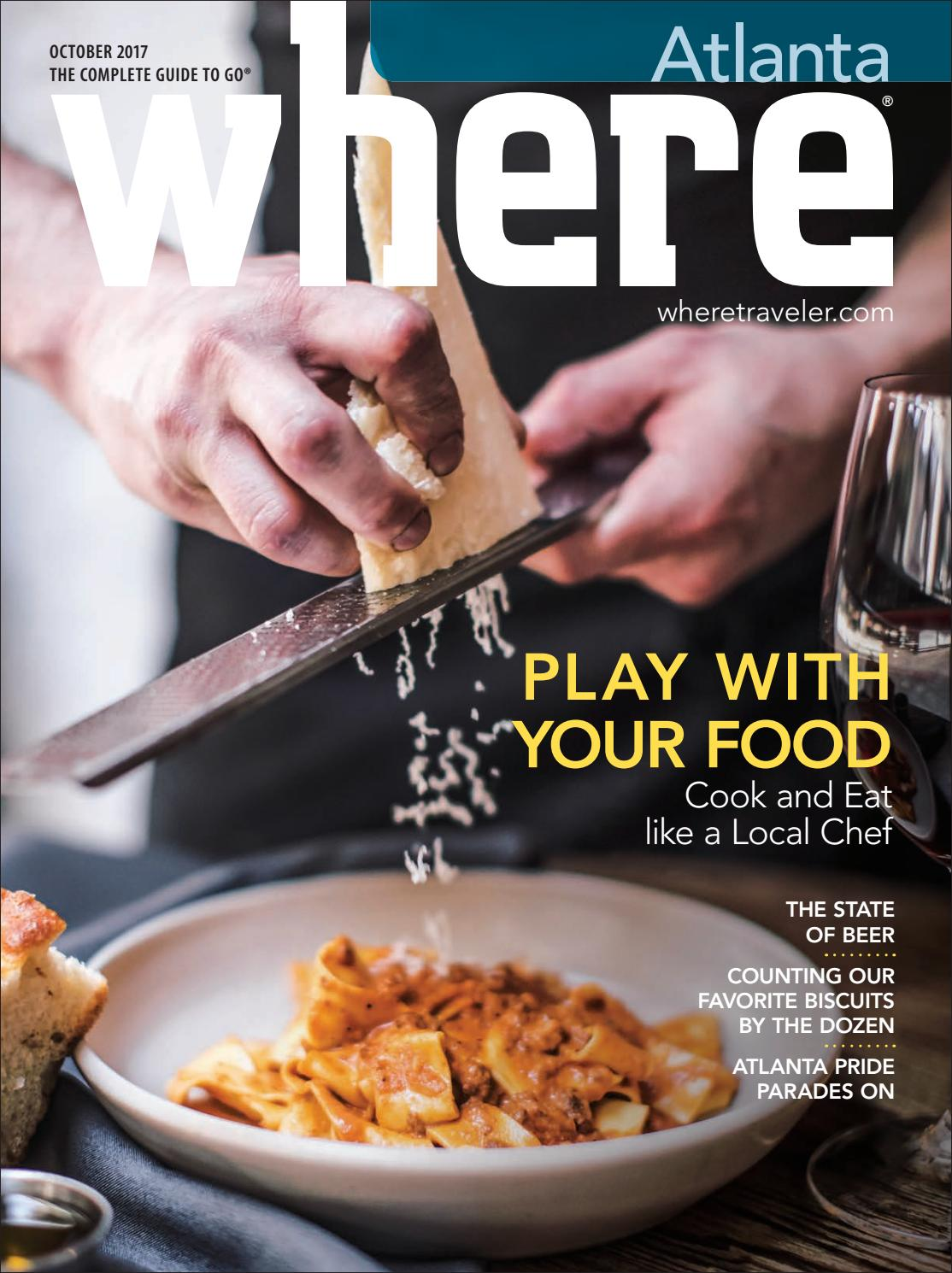 Where Magazine Atlanta October 2017 by Morris Media Network - issuu