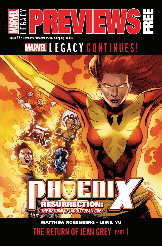 Aug 2017 Marvel Legacy Previews #1
