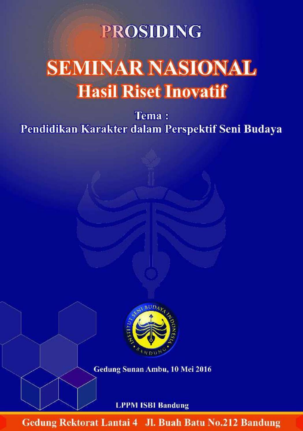 Prosiding Seminar Nasional Hasil Riset Inovatif Lppm Isbi